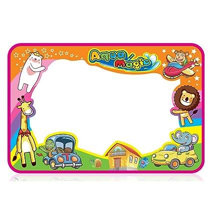 wishfan aqua doodle mat multi colors magic mat kids educational toys water play large drawing