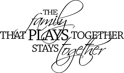 The Family That Prays Together Stays Together Lettering Art Bible