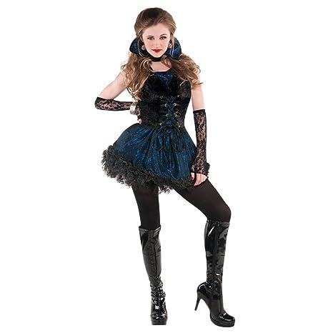 Amscan Teen Girls Midnight V&ire Costume - Large  sc 1 st  Amazon.com & Amazon.com: Amscan Teen Girls Midnight Vampire Costume - Large: Toys ...