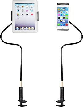 RF REENFAYA Universal Flexible Long Arm Phone And Tablet Holder