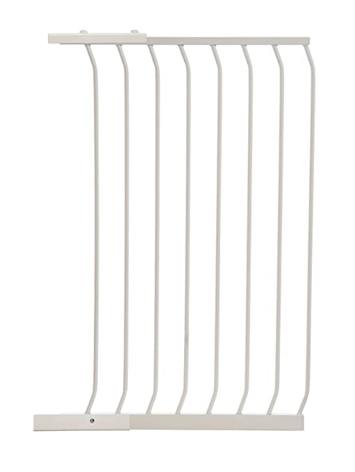 WHITE DREAMBABY EXTRA TALL BABY SAFETY STAIR GATE EXTENSION 18CM  F193W NEW