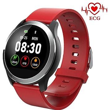 MHCYKJ Fitness Trakcer Smart Watch ECG PPG IP68 Reloj Inteligente ...