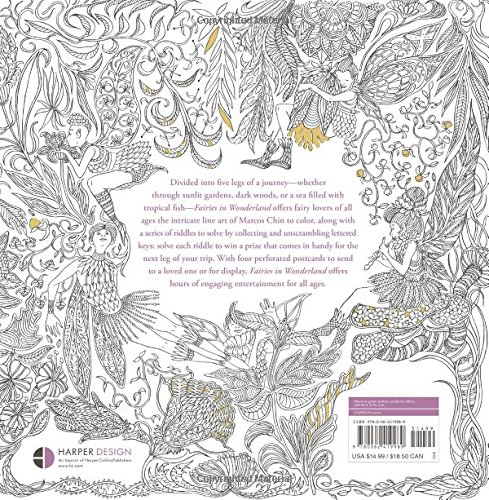 Fairies in Wonderland: An Interactive Coloring Adventure for All ...