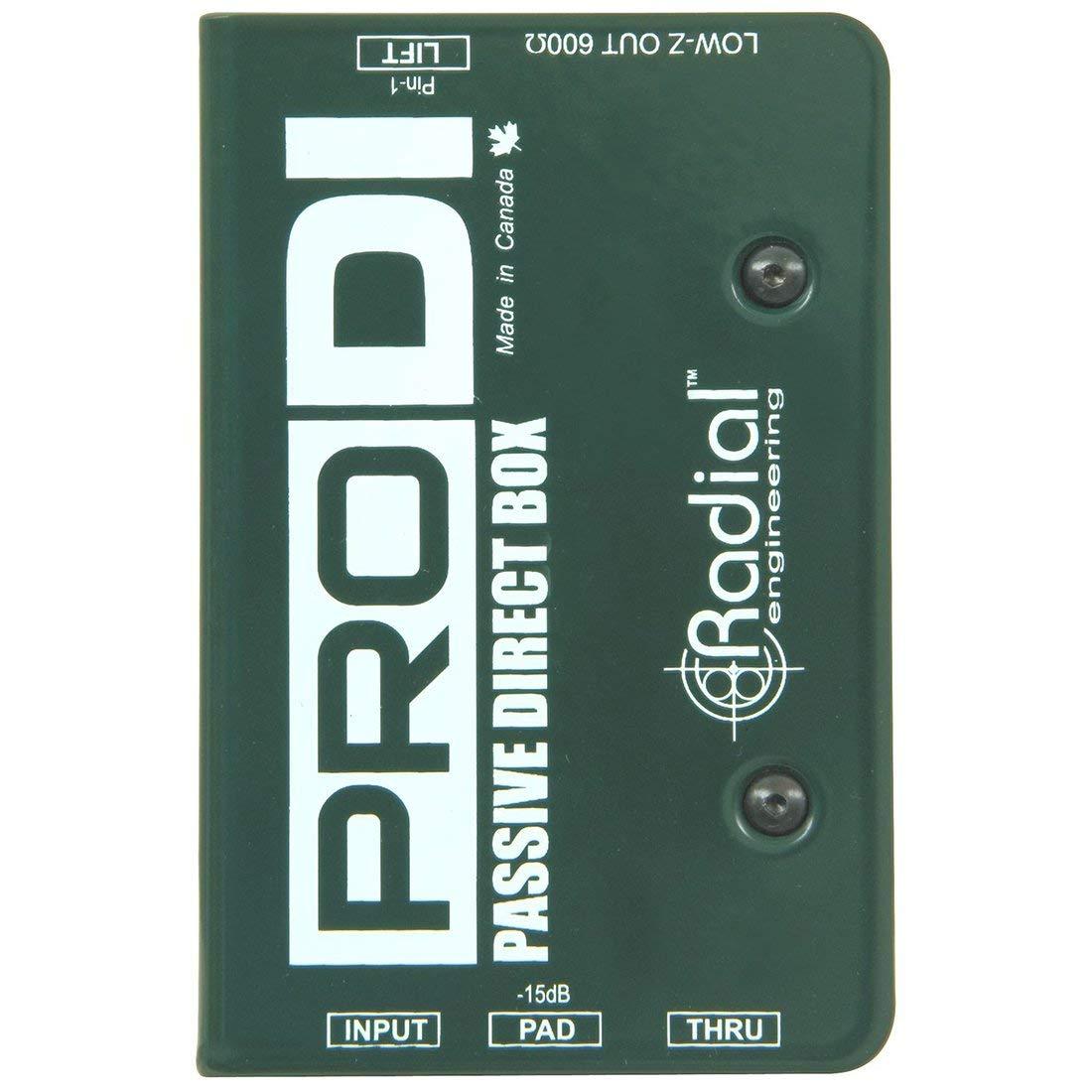 Radial Pro DI Passive Direct Box (Certified Refurbished)