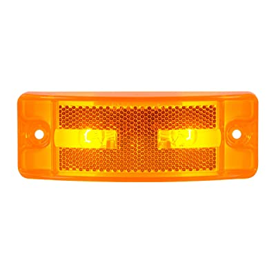 Grand General 78285 Marker Light (Amber Turtle Style Side, Reflector Lens): Automotive