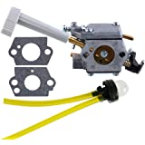 HIPA 308054079 Carburetor with Choke Lever + Mounting Gasket for Ryobi RY08420 RY08420A Backpack Blower