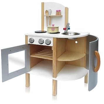 Kinderküche Holzspielzeug Spielküche Holz Kinder Herd Ofen ...