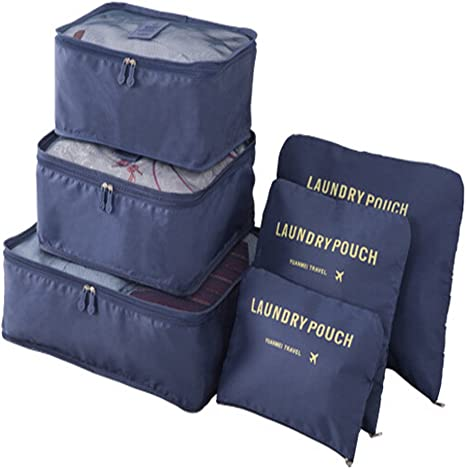 Medium reversible drawstring bag storage pyjamas travel