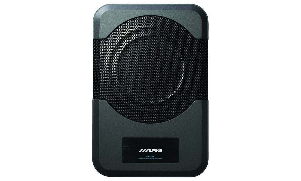 Alpine Electronics PWE-S8 Restyle Compact Powered 8-Inch Subwoofer by Alpine