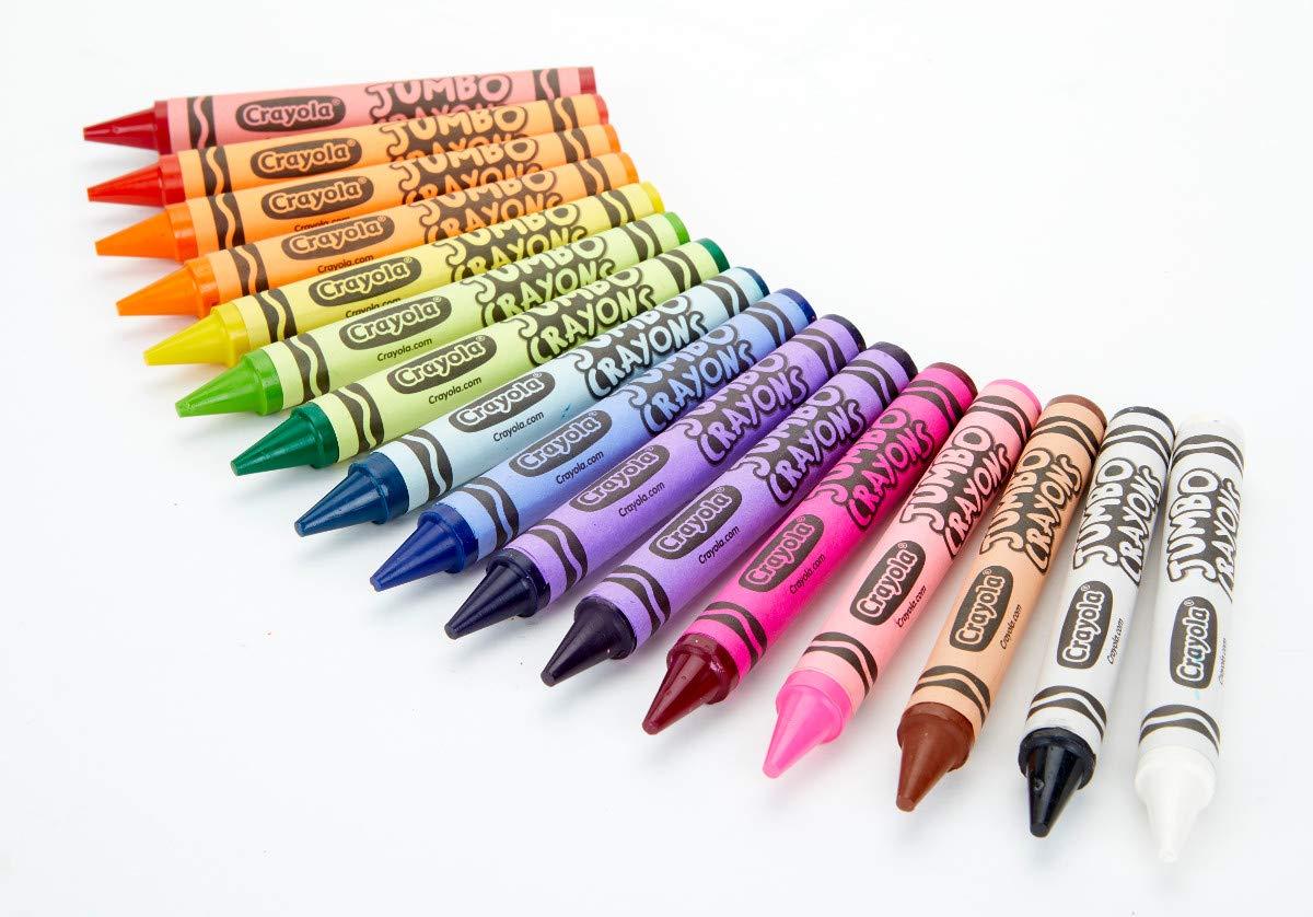 Crayola Jumbo Crayons 16Count, Multicolor by Crayola (Image #3)