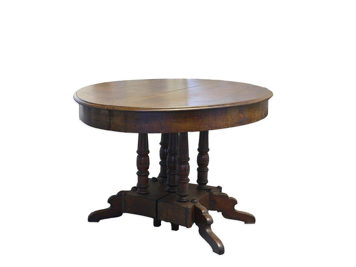 Ausziehbarer Esstisch bis 225 cm Gründerzeit Eiche