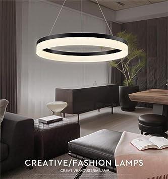 Gute Qualitt Creative Arts LED Kronleuchter Persnlichkeit Kreisring Atmosphrischer Wohnzimmerlampe Moderne Minimalistische Mode