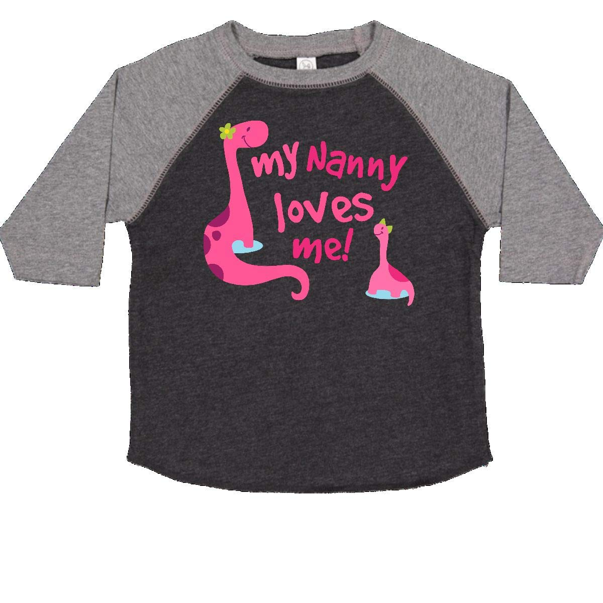 inktastic My Nanny Loves Me Toddler T-Shirt