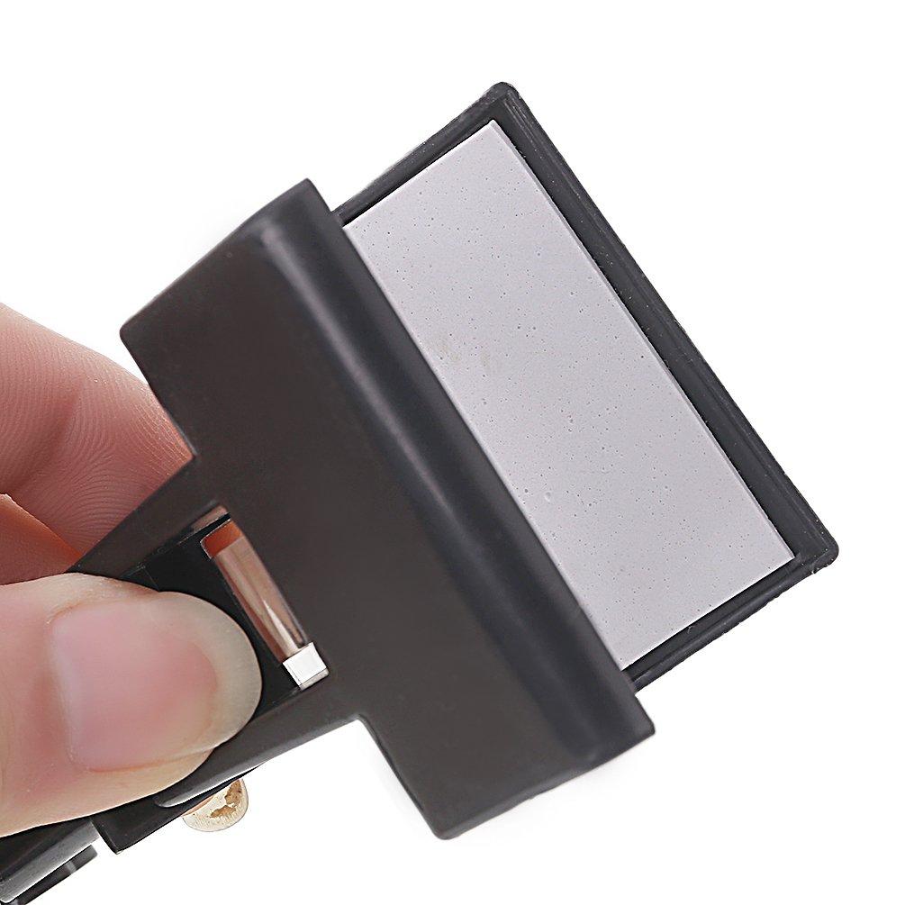 noir Kesheng Clip Double T/êtes Rotatif Planche /à Dessin Peinture Accessoire