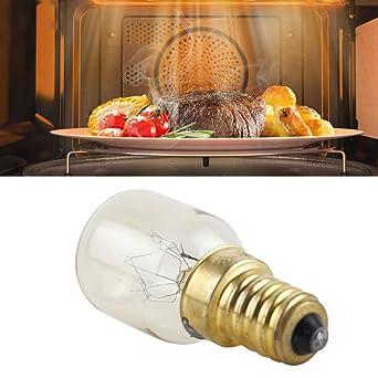 T25 E14 25W Bombilla para horno de microondas Resistente a altas ...