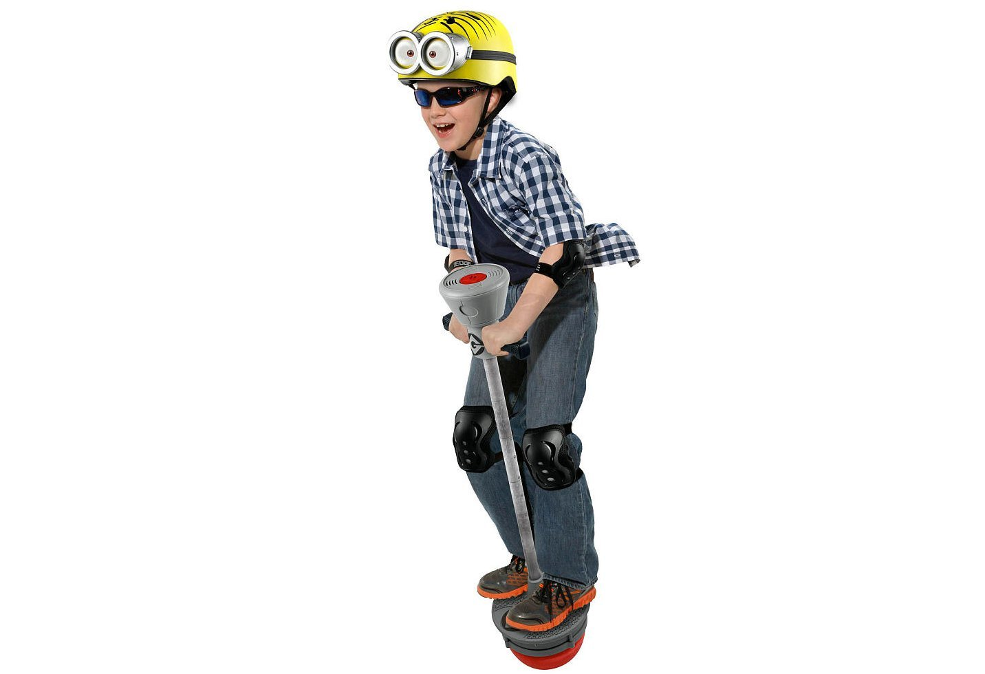 Minions Deluxe Electronic Pogo Stick with Interactive Sounds by Edge Brands Lmited