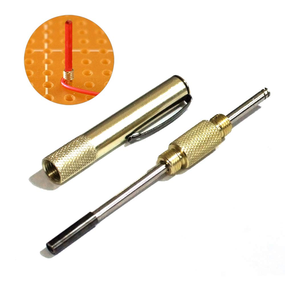 Ochoos Stainless Steel M3 Self Tapping Slotted Thread Sleeve Screw Threaded Insert