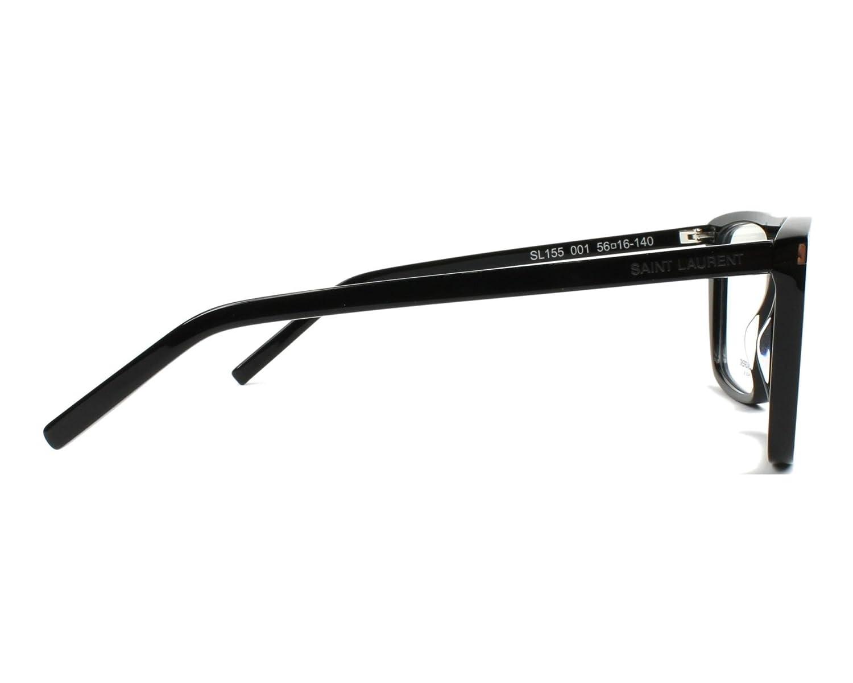 6104814ed73 Saint Laurent SL 155 - 001 BLACK Eyeglasses at Amazon Women s Clothing  store