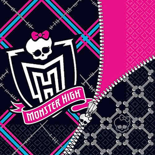 Monster High Lunch Napkins (Monster High Lunch Napkins (16))