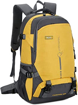 Mochila de Senderismo Trekking, 45L Impermeable Mochila de ...