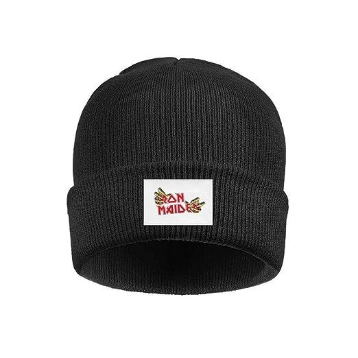 c7739800a5a60c YJRTISF Popular Music Winter Knit Caps Pattern Trending Beanie Skull Hats  for Men