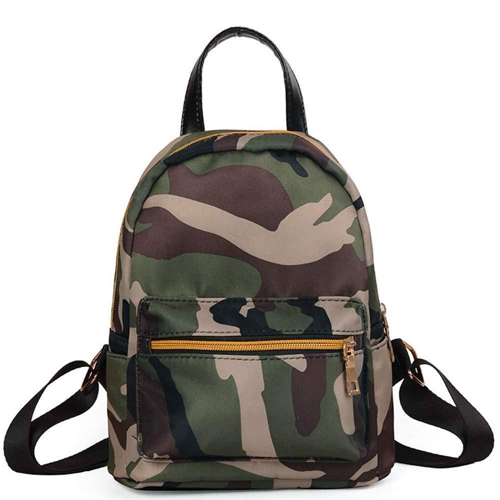 BHDYHM Fashion Shoulder Bag Solid Zipper Waterproof Backpack