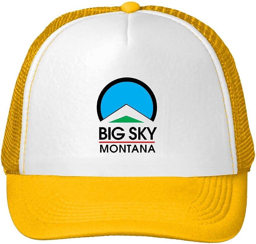 Kari gorra Trucker gorro Montana Big Sky Logo Popular Cap ...