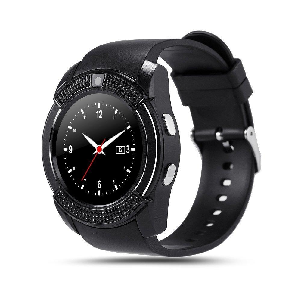 Amazon.com: BOND V8 Smart Watch Sim TF Card Bluetooth Clock ...