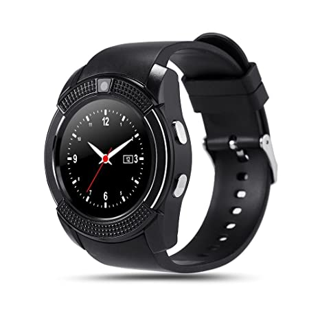 Amazon.com: Bond V8 Smart Watch tarjeta TF SIM reloj ...