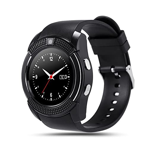 Amazon.com: Bond V8 Smart Watch tarjeta TF SIM reloj ...