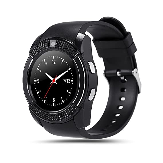 Amazon.com: BOND V8 SmartWatch Phone Sim TF Card Bluetooth ...