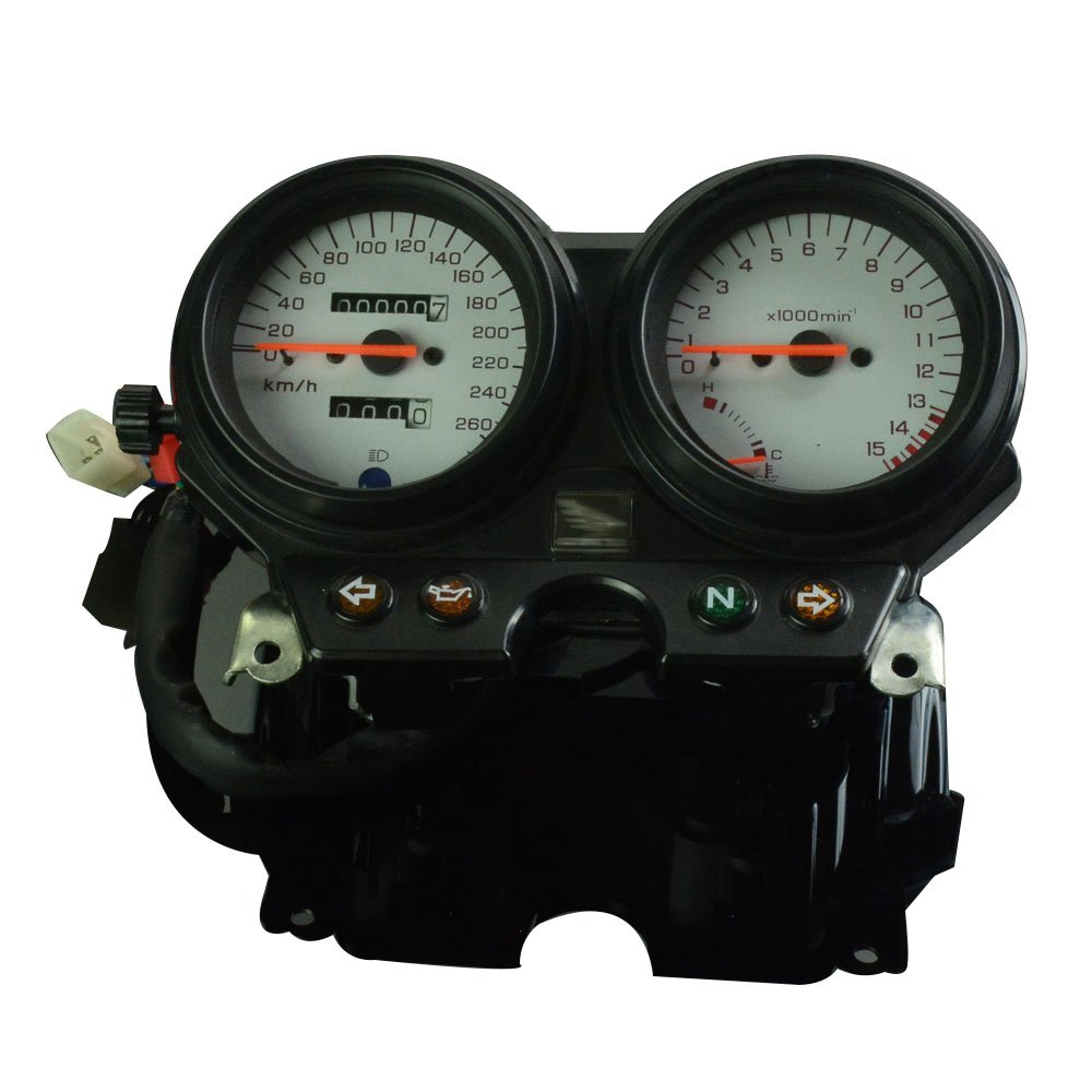 Fast Pro Motorcycle Tachometer Odometer Instrument Speedometer Gauge Cluster Meter For Honda CB600 Hornet 600 1996-2002 Motorbike