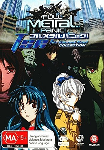 Full Metal Panic! - TSR - The Second Raid - Complete Collection [4 Disc Set] [NON-USA Format / PAL / Region 4 Import - Australia]