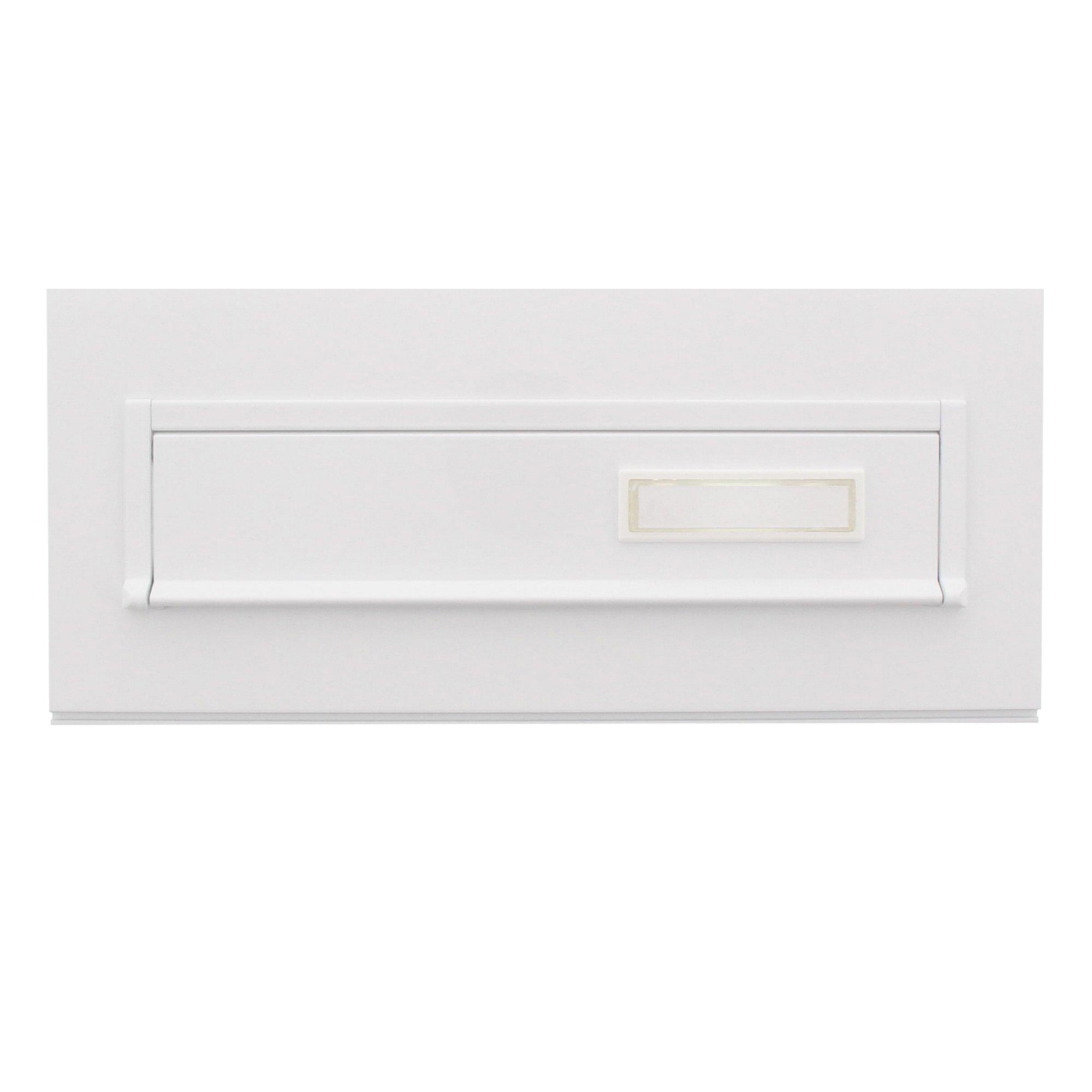 Burg-Wächter Blende 794 W 797 Blind for''Through The Wall'' Letterbox, White