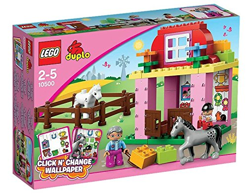 Lego duplo : horse stable (10500)