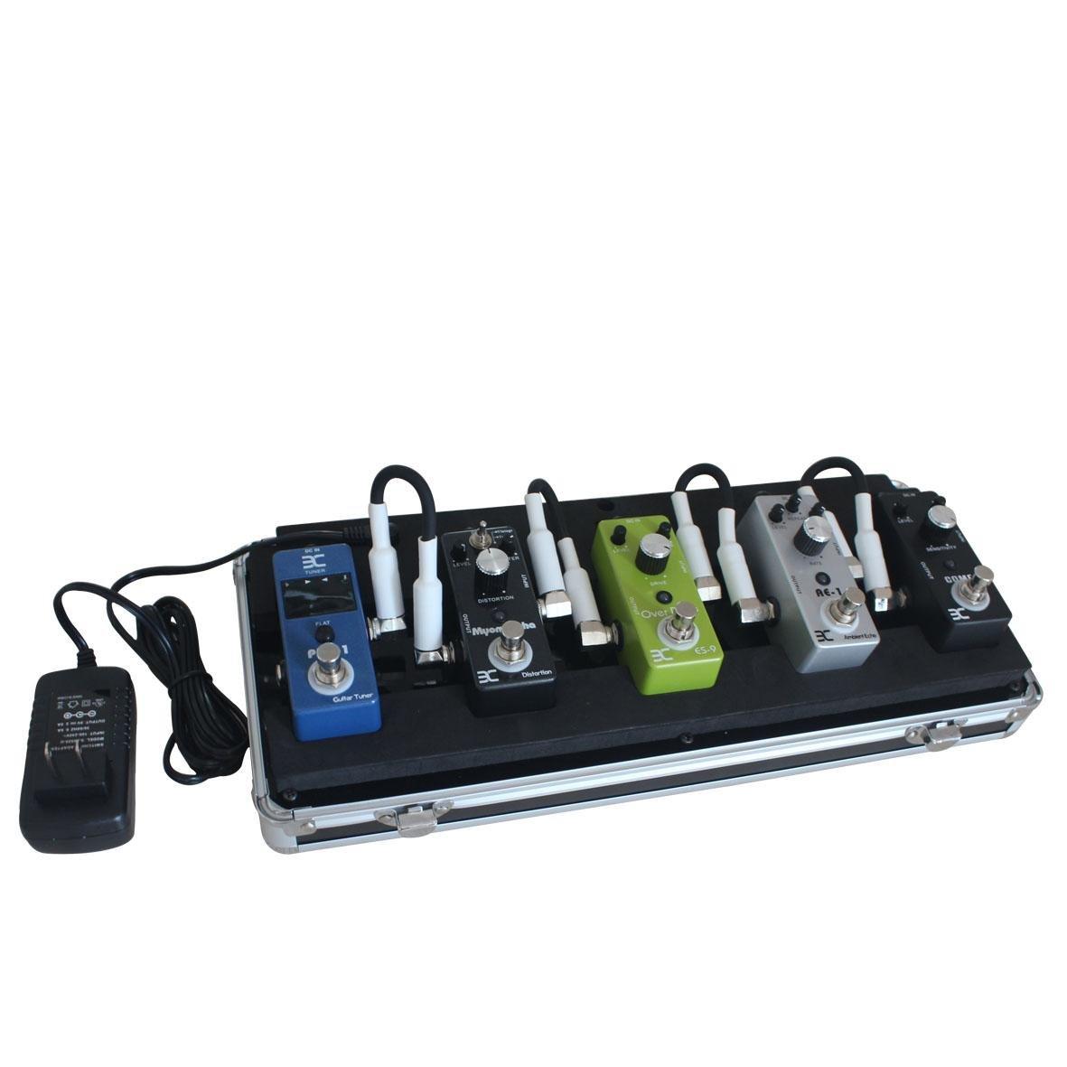 ENO EX QQ Case 5-Pedal Pedalboard/Electronic Guitar Effects Pedals Flight Case by Effects Pedals Flight Case (Image #8)