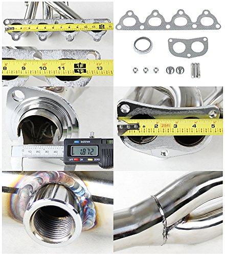 Spec-D Tuning HH2-CV92EX-DK Honda Civic Ex Crx Del Sol Sohc Dynamik Header 2 Pc.