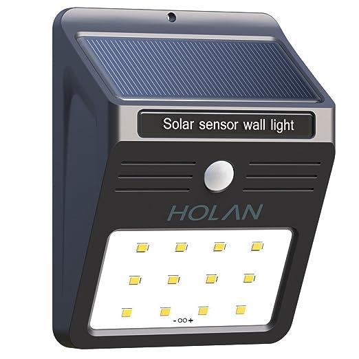 330 opinioni per Luci Solari Holan 12 LED Lampada Wireless ad Energia Solare da Esterno