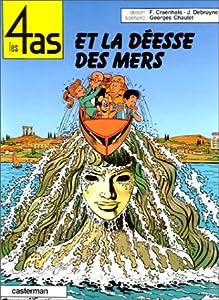"""Afficher """"Les 4 as et la déesse des mers"""""""