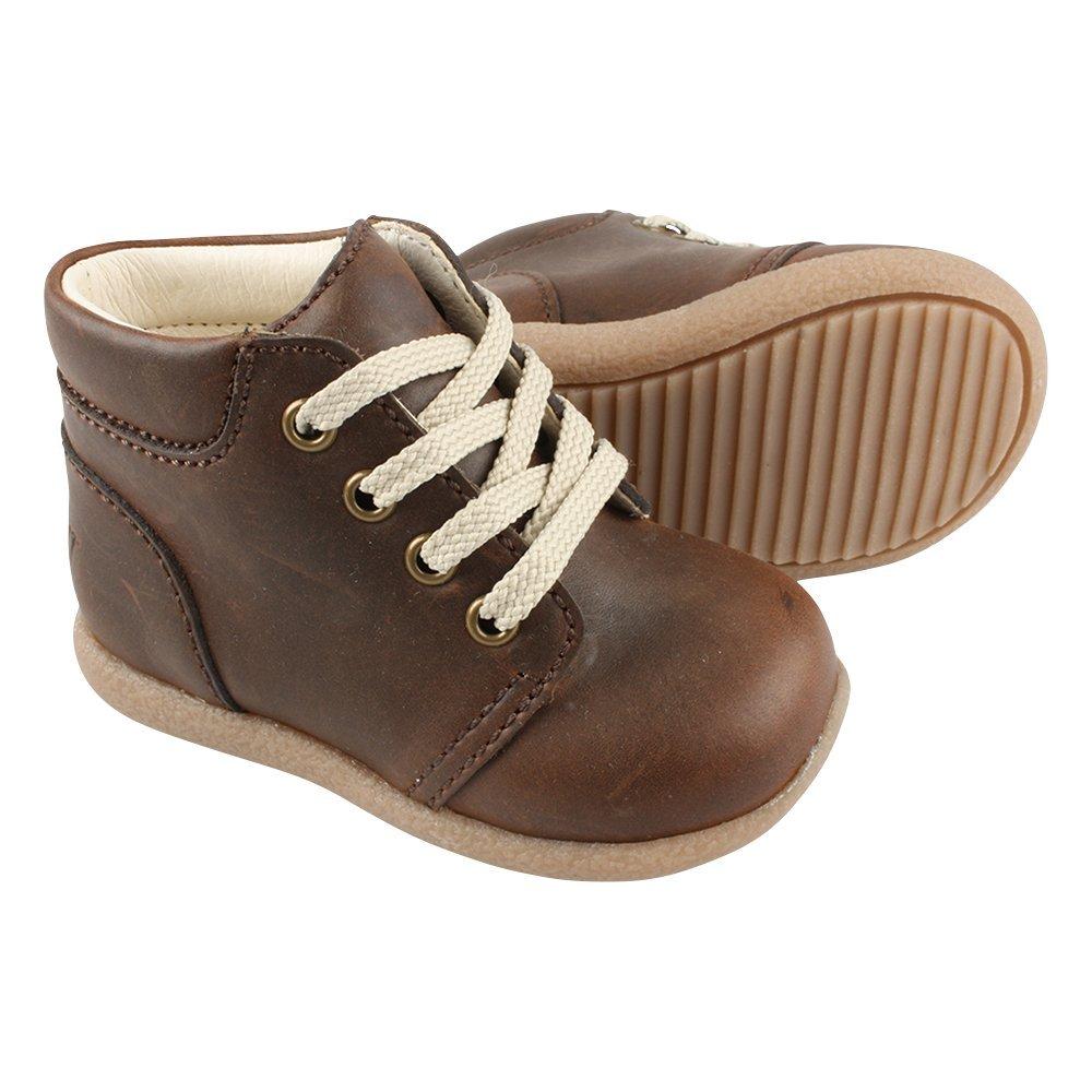EN FANT Jungen Beginner Shoe Lace Bootsschuhe, Blau (Navy 04), 21 EU