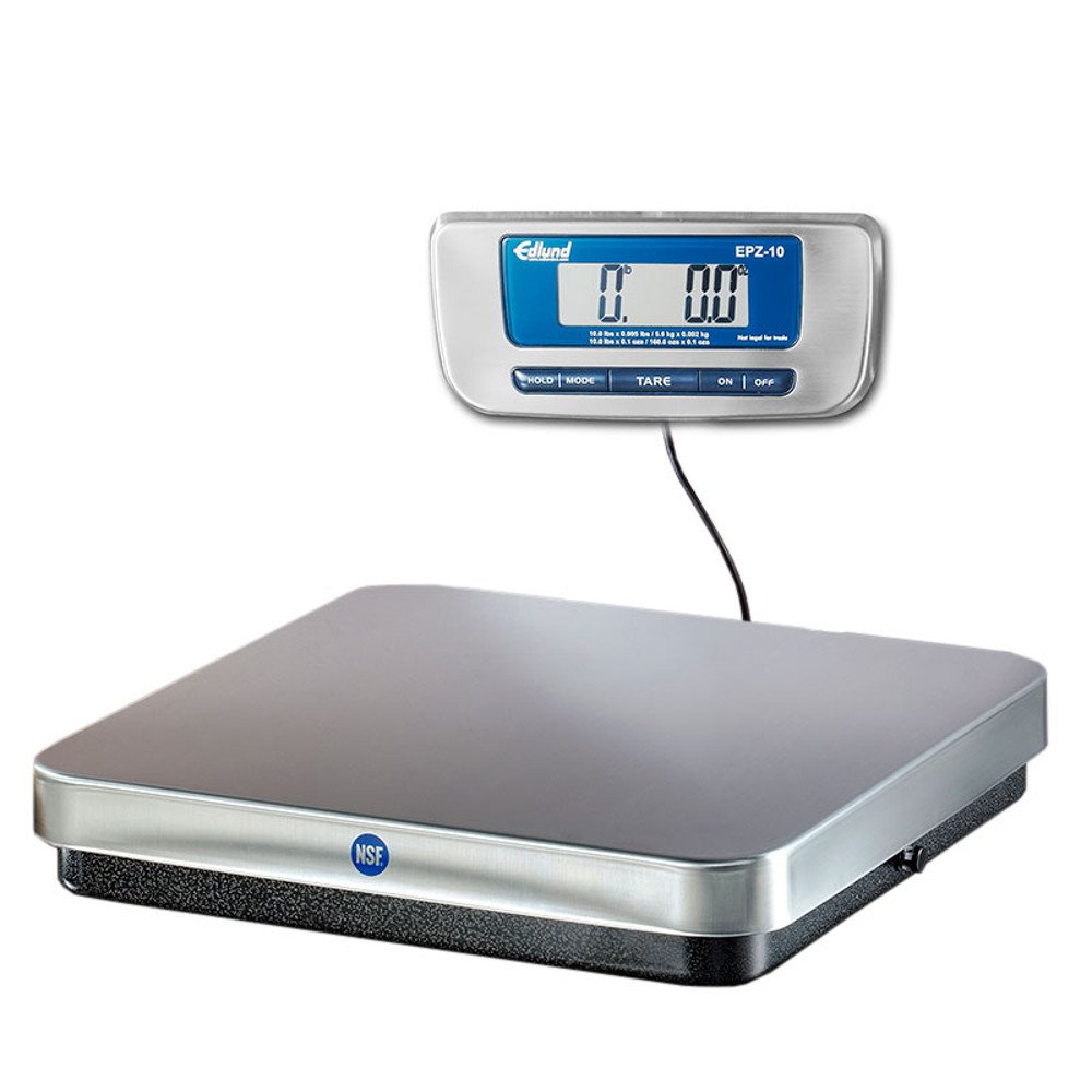 Edlund EPZ-10F 10 Pound Digital Pizza Scale with Foot Tare Switch by Edlund (Image #1)