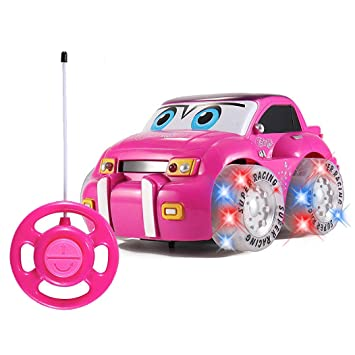 Amazon Com Liberty Imports My First Rc Car For Girls Pink Purple