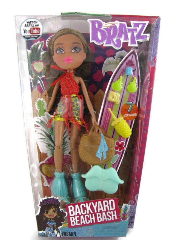 amazon com bratz yasmin backyard beach bash doll toys u0026 games