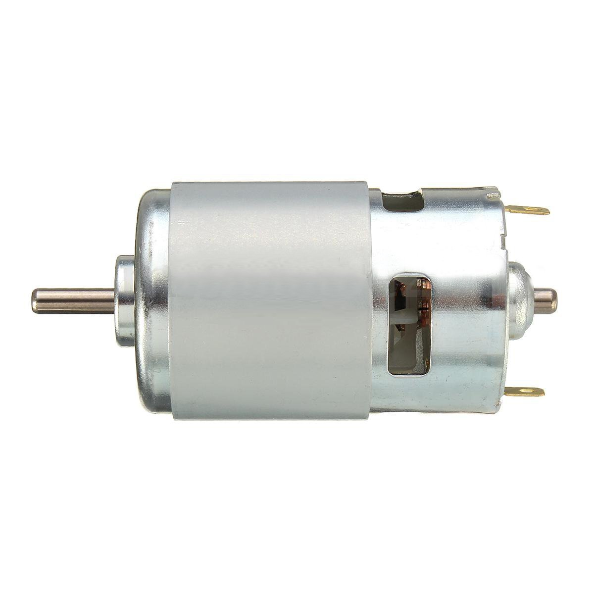 Qianson DC 12V-36V 24V 3500-9000RPM 775 Motor Ball Bearing Large Torque High Power Low Noise DC Motor For Electrical Tools