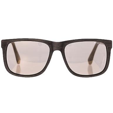 2e0a03b2b077 Animal Overcast Sunglasses - Textured Black / Smoke Gold: Animal:  Amazon.co.uk: Clothing