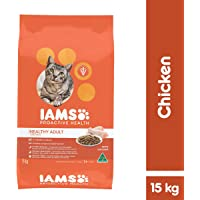 Iams Proactive Health Chicken Adult Cat Food 15 kg 1 Pack Medium