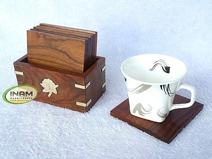 Amazon Com Inam Antique Beautiful And Designer Handmade Wooden Cup