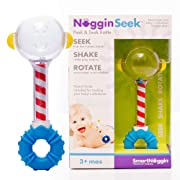SmartNoggin NogginSeek Peek & Seek Rattle Baby Toy