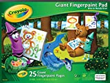 "Crayola Giant Fingerpaint Paper, 25 Pages, 16"" x 12"" (99-3405)"
