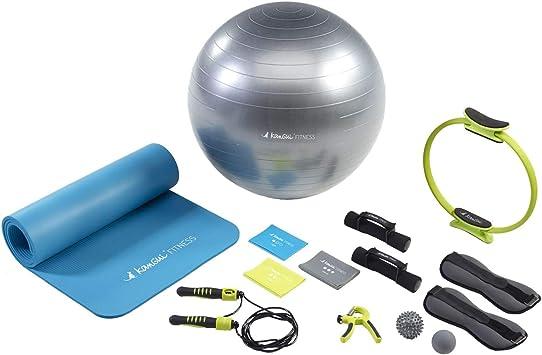 KANGUI Pack Home Fitness Expert Unisex, Azul y Verde: Amazon.es: Deportes y aire libre